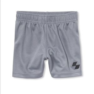 NWT PLACE Boy Gray Basketball Sport Gym Shorts 5T